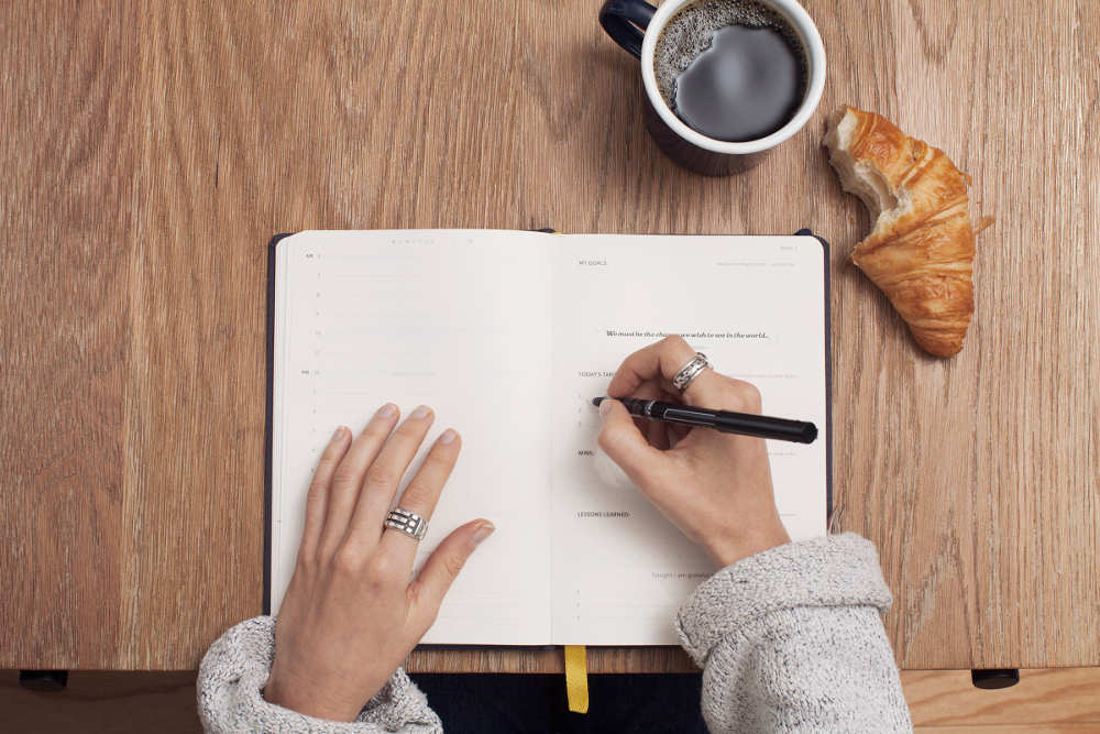 take 5 minutes and write down your 5-10 core values